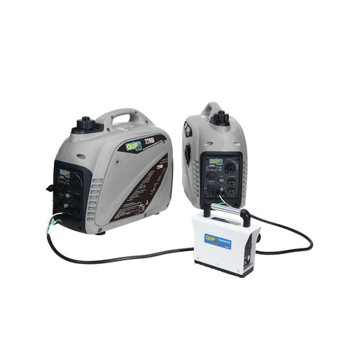Quipall 2200I2-500052-117B 2 Sets Gas Portable Inverter Generators with free Parallel Kit
