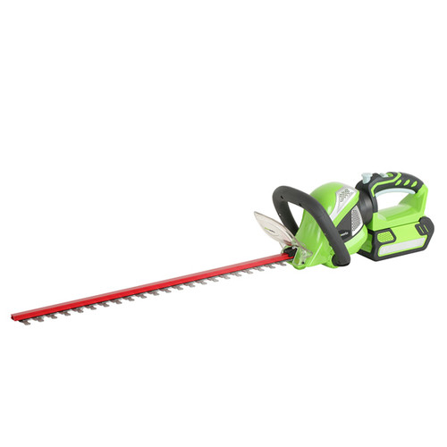 Greenworks 22332 G-MAX 40V Lithium-Ion 24 in. Rotating Hedge Trimmer (Tool Only) image number 0