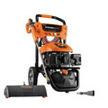 Generac 7143 3100 PSI/ 2.5 GPM Gas Pressure Washer Kit Li-Ion Electric Start with PowerDial Spray Gun, 30 ft. Ultra Flex Hose and 4 Nozzles