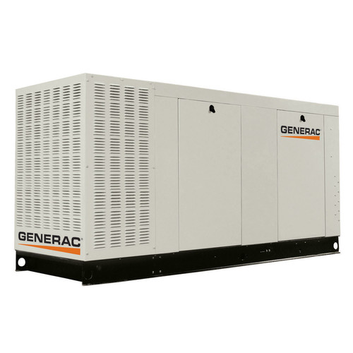 Generac QT07068AVAX Liquid-Cooled 6.8L 70kW 120/240V Single Phase Propane Aluminum Commercial Generator