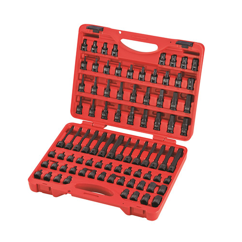 Sunex 3569 84-Piece 3/8 in. Dr. Master Hex Bit Impact Socket Set image number 0