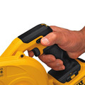 Dewalt DCE100M1 20V MAX Cordless Lithium-Ion Compact Jobsite Blower Kit image number 4