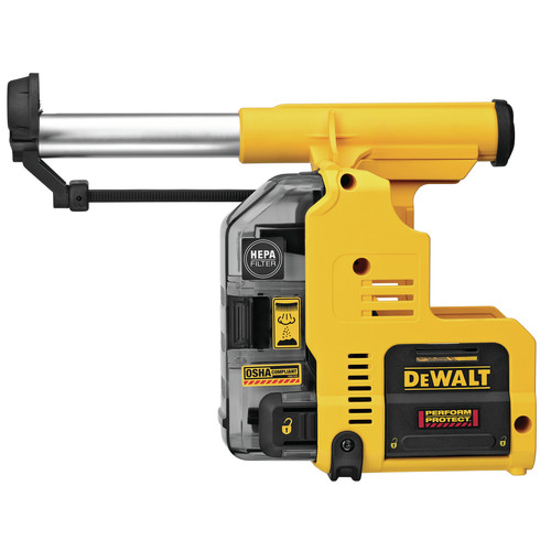 Dewalt DWH303DH Onboard Dust Extractor for 1 in. SDS Plus Hammers image number 0