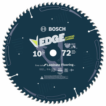 Bosch DCB1072 Daredevil 10 in. 72 Tooth Circular Saw Blade for Laminate and Melamine image number 0