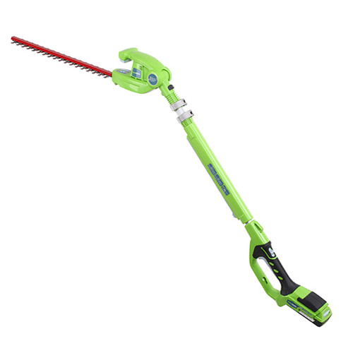 Greenworks 2300002 G 24 24V Cordless Lithium-Ion 20 in. Long Reach Hedge Trimmer (Tool Only)