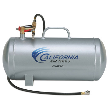 California Air Tools CAT-AUX05A 5 Gallon Lightweight Portable Aluminum Air Tank