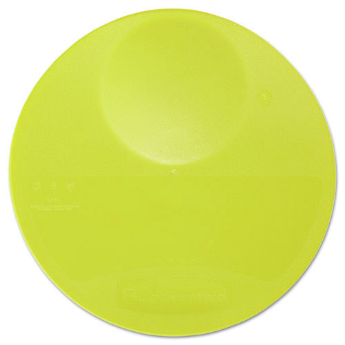 Rubbermaid 5725YEL 10-1/4 in. x 1 in. Round Storage Container Lid (Yellow)