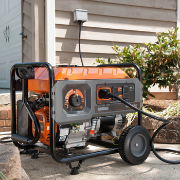 Factory Reconditioned Generac 6672R 5,500 Watt Portable Generator with Cord image number 6