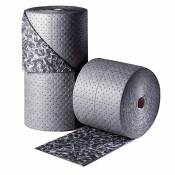 Brady BM15 BattleMat 25 Gallon Capacity 18-1/2 in. x 150 ft. Absorbent Roll - Industrial Camouflage