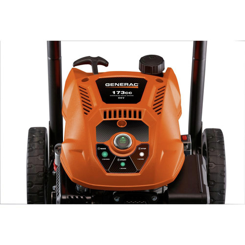 Generac 7132 3100 PSI/2.5 GPM Gas Pressure Washer Li-Ion Electric Start with PowerDial Spray Gun, 25 ft. Hose and 4 Nozzles image number 3