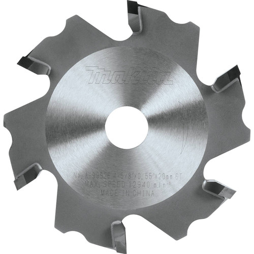 Makita A-99926 4-5/8 in. 2mm Tip 90-Degree Aluminum Grooving Carbide-Tipped Saw Blade