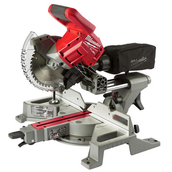 Milwaukee 2733-20 M18 FUEL 7-1/4 in. Dual Bevel Sliding Compound Miter Saw (Tool Only)