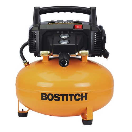 Factory Reconditioned Bostitch BTFP1KIT-R 18-Gauge Brad Nailer and Compressor Combo Kit image number 1