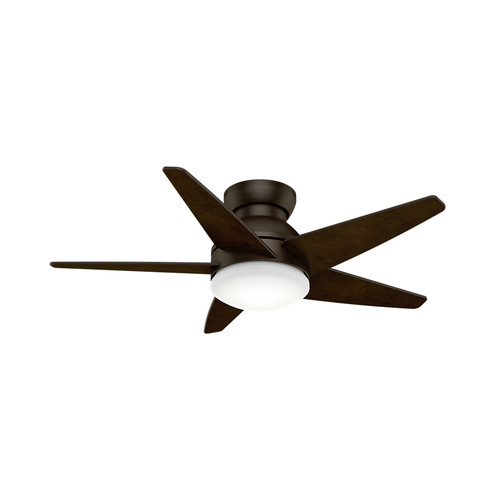 Casablanca 59020 44 in. Contemporary Isotope Brushed Cocoa Espresso Indoor Ceiling Fan