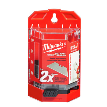 Milwaukee 48-22-1953 Drywall Utility Knife Blades with Dispenser (50-Pack) image number 0