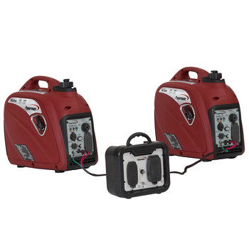 Factory Reconditioned Powermate PM0152000R 80cc Gas 2000 Watt Portable Inverter Generator image number 2