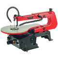 General International BT8007 16 in. 1.2A Variable Speed Scroll Saw with Flex Shaft LED Light