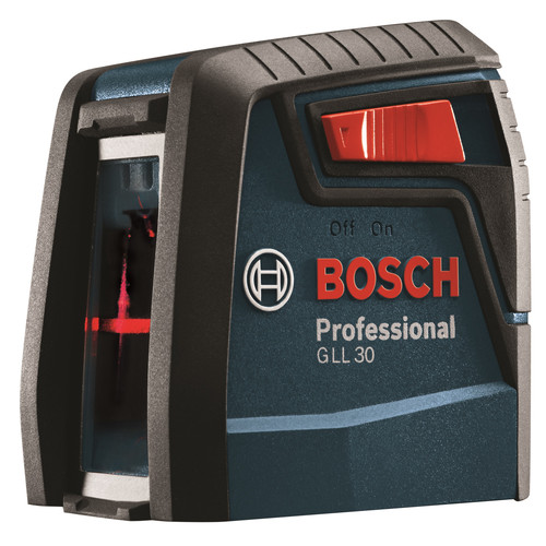 Bosch GLL 30 30 ft. Self-Leveling Cross-Line Laser