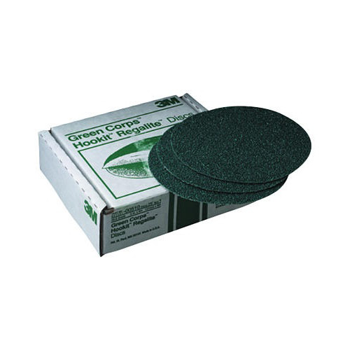 3M 512 Green Corps Hookit Regalite Disc 6 in. 80E (25-Pack)