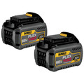 Dewalt DCB606-2 20V/60V MAX FLEXVOLT 6 Ah Lithium-Ion Battery (2-Pack) image number 1