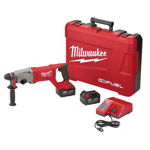 Milwaukee 2713-22 M18 18V Cordless Lithium-Ion 1 in. SDS Plus D-Handle Rotary Hammer