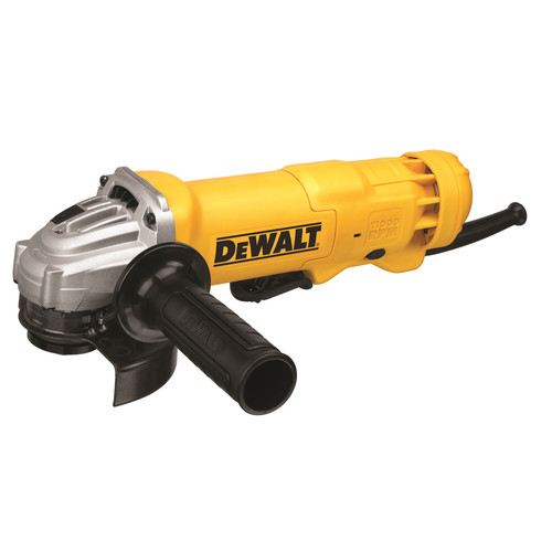 Factory Reconditioned Dewalt DWE402R 4-1/2 in. 11 Amp Paddle Switch Angle Grinder