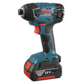 Factory Reconditioned Bosch CLPK496A-181-RT 18V Lithium-Ion 4-Tool Cordless Combo Kit (2 Ah) image number 3