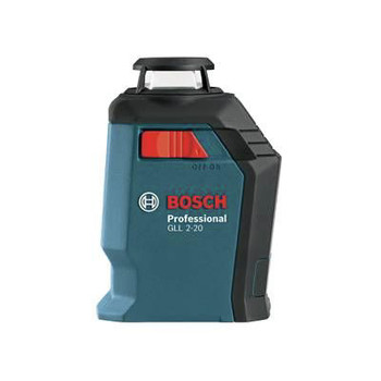 Factory Reconditioned Bosch GLL2-20-RT Self-Leveling 360 Degree Line and Cross Laser image number 2