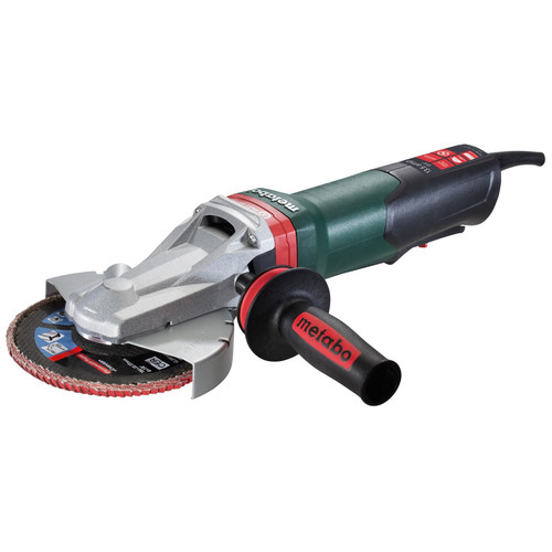 Metabo WEPBF 15-150 Quick 13.5 Amp 6 in. Flat Head Grinder with Paddle Switch & Brake