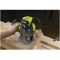 Factory Reconditioned Ryobi ZRRE180PL1G 10 Amp 2 Peak HP Plunge Router image number 2