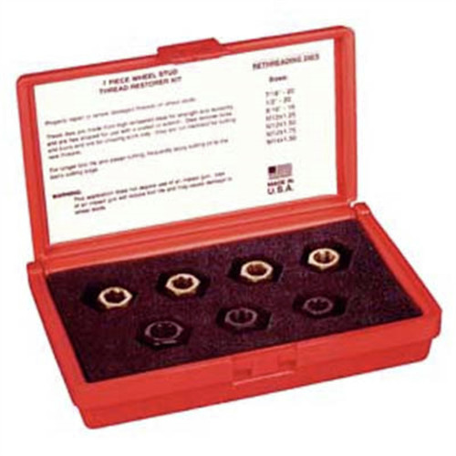 Kastar 2583 7-Piece Wheel Stud Thread Restorer Set image number 0