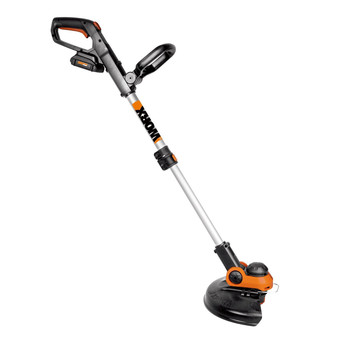 Worx GT 3.0 20V 3.0 Ah Lithium-Ion 12 in. Grass Trimmer/Edger with Command Feed
