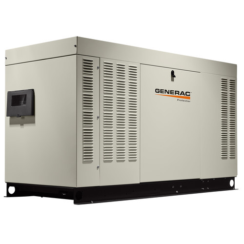 Generac RG03624ANAX Protector 120/240V 2.4L 36 kW Single Phase Liquid-Cooled LP/Natural Gas Aluminum Automatic Standby Generator