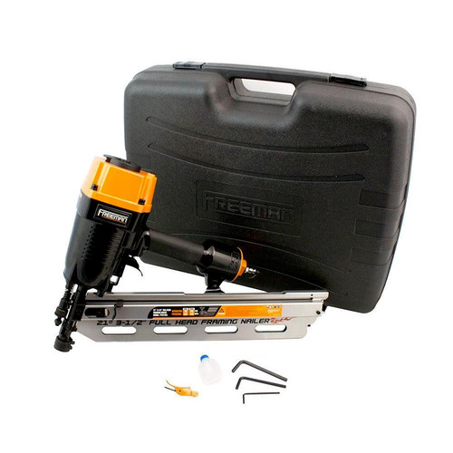 Freeman PFR2190 21 Degree 3-1-2 in. Full Head Framing Nailer