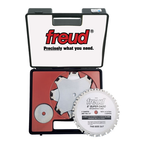 Freud SD508 8 in. 24T Super Dado Blade Set