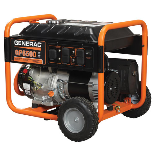 Generac GP6500 GP Series 6,500 Watt Portable Generator