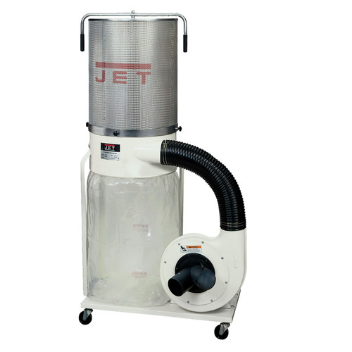 JET 710702K Vortex 230V 2HP Single-Phase Dust Collector with 2-Micron Canister Kit image number 0