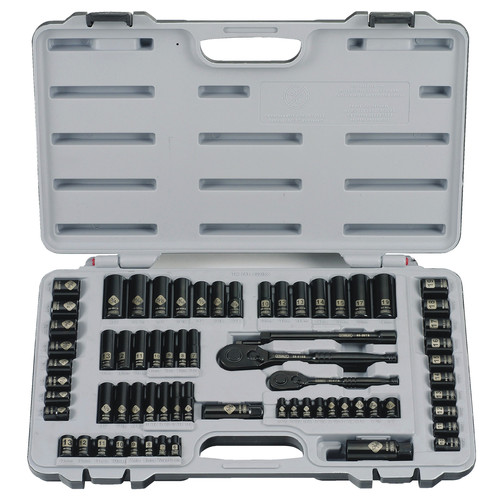 Stanley 92-824 69 Piece Black Chrome Socket Set