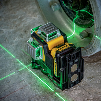 Dewalt DW089LG 12V MAX 3 x 360 Degrees Green Line Laser image number 7