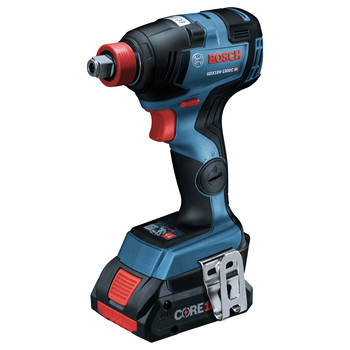 Bosch GXL18V-224B25 18V 2-Tool 1/2 in. Hammer Drill Driver and 2-in-1 Impact Driver Combo Kit with (2) CORE18V 4.0 Ah Lithium-Ion Batteries image number 1
