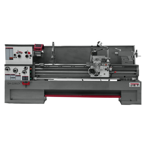 JET GH-2280ZX Lathe with Taper Attachment