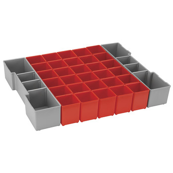 Bosch ORG1A-RED Click and Go 32 Pc Organizer Set for L-BOXX-1A