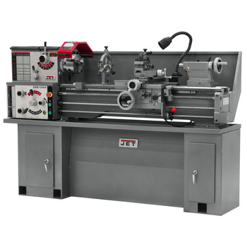 JET GHB-1340A 13 in. x 40 in. 2 HP 1-Phase Geared Head Bench Lathe