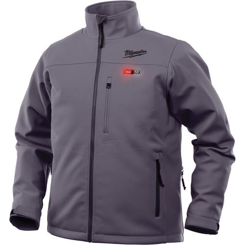 milwaukee 201g-21l m12 12v li-ion heated jacket kit - large
