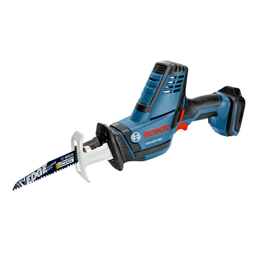 Bosch GSA18V-083B 18V Cordless Lithium-Ion Compact Reciprocating Saw (Bare Tool)