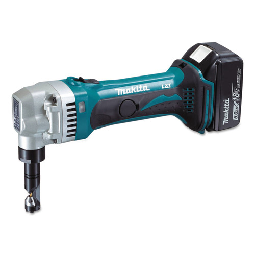 Makita XNJ01T 18V LXT 5.0 Ah/ 16 Gauge Cordless Lithium-Ion Nibbler Kit image number 1