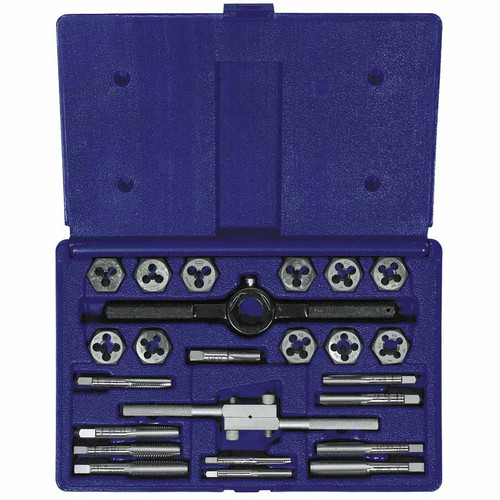 Irwin Hanson 24614 24-pc Fractional Tap & Hex Die Set