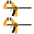 Dewalt DWHT83149 (2-Pack) 6 in. Medium Bar Clamps