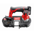 Milwaukee 2429-21XC M12 12V Cordless Lithium-Ion Sub-Compact Band Saw Kit with XC Battery