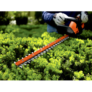 Factory Reconditioned Black & Decker LHT2220R 20V MAX Cordless Lithium-Ion 22 in. Dual Action Electric Hedge Trimmer image number 6